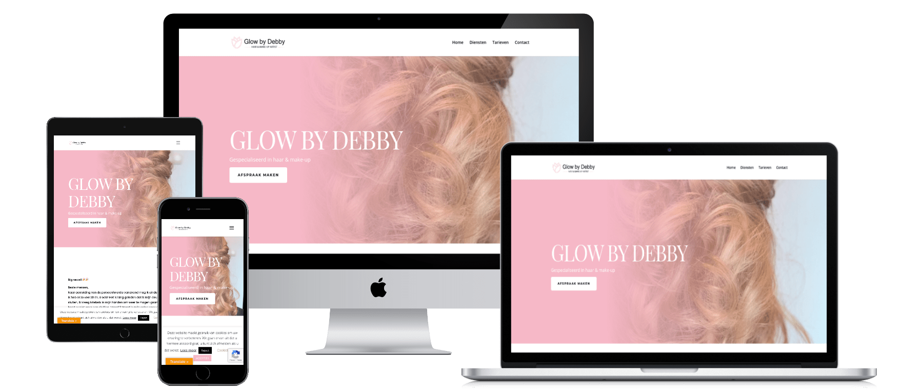 Lean Fashion website laten maken door DigiVisuall Friesland