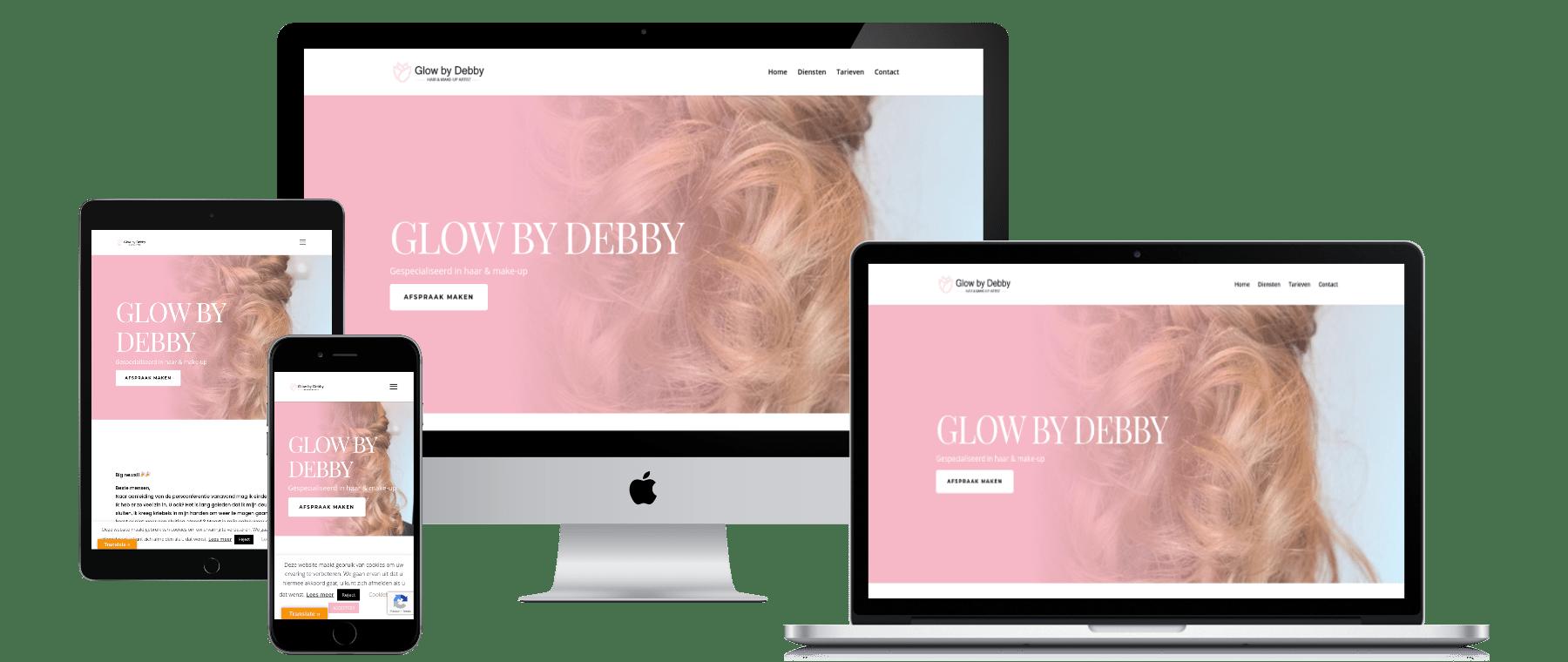 Lean Fashion website laten maken door DigiVisuall Friesland